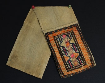 Small handwoven saddle bag from Azerbaijan