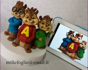 Cake Topper Alvin and the Chipmunks, a fictional character