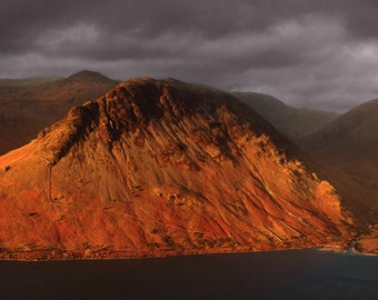 Wasdale from Illgill Head -- Landscape Photography by M J Turner