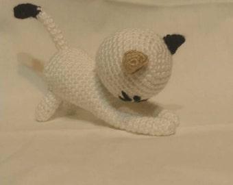 Crochet Playful Kitten Amigurumi