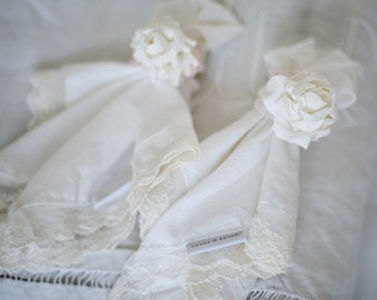 Handmade floral napkin ring
