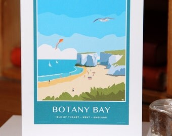 Greetings Card of Botany Bay in Thanet on the Kent Coast (Card ID: WOS210)