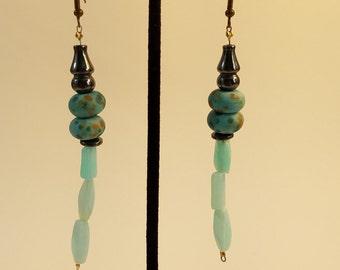 Dangle Earrings - Chinatown  -  EB003