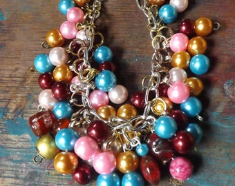 Sea Pearl - a wonderful jangly bracelet. Very pretty for girls of all ages!
