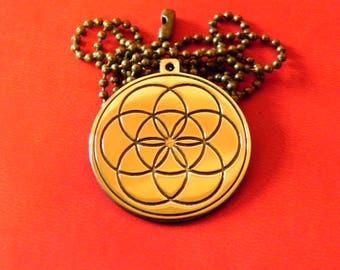 Seed of life pendant, Sacred Geometry