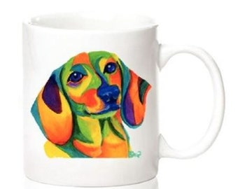 Dachshund Colorful Mug