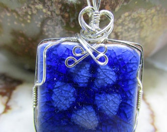 Small Forget Me Not Pendant