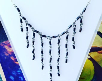 Black Diodes Necklace