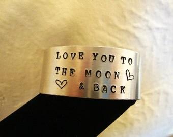 Hand Stamped Cuff Bracelet, Cuff Bracelets, Hand Stamped Jewelry, Stamped Cuff Bracelet, Metal Stamped Jewelry, Mental Stamping, Bracelets