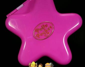 COMPLETE Polly Pocket FAIRYLIGHT WONDERLAND Light Up Playset 1993 Vintage
