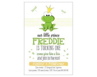 Kids Birthday FROGGY Invitation PRINTABLE