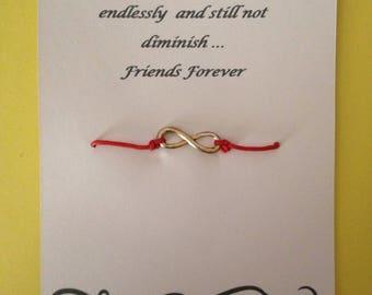 Infinity wish bracelet