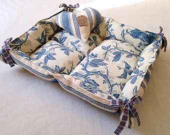 Handmade reversible pet bed/mattress,  suitable for dogs & cats. In stock now