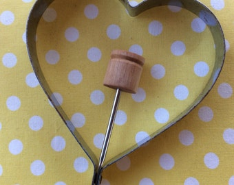 Heart Pancake Mold,Breakfast Food,Pancake Maker,Romantic Meals,Shaped Pancakes.Gift For Cook, Bide's Gift,Wedding Present
