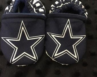 Cowboys Crib Shoes / Cowboys Slippers