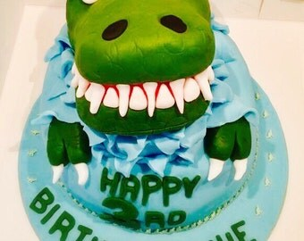Dinosaur Head/Claws Cake Topper