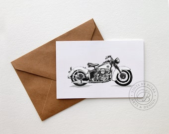 Harley Harley Davidson Harley Party Harley Birthday Manly Cards Motorcycle Gift Idea Harley Party Harley Davidson Gift Classic Harley