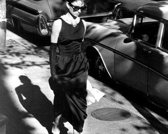 "Audrey Hepburn in Film ""Breakfast at Tiffany's"" - 5X7, 8X10 or 11X14 Publicity Photo (NN-205)"