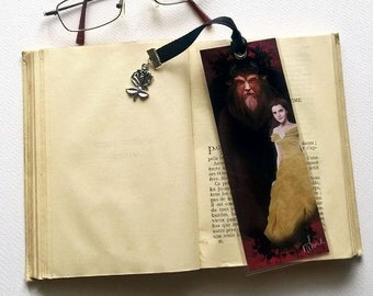 Made and the beast - illustrated, laminated, bookmark