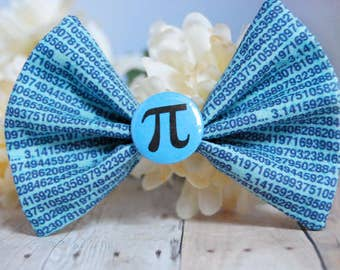 3.14 Pi Bow // Math, Holiday, Algebra, Geometry, Novelty