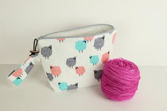Baa Baa Baby Sock project bag