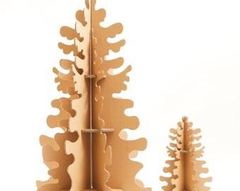 Cardboard Christmas tree