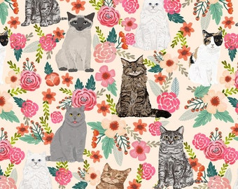 Cat Quilt - Kitty Quilt - Custom Quilt - Whole Cloth Quilt -
