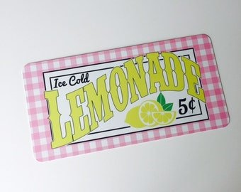 Lemonade Sign - Summer Sign - Wreath Sign - Aluminum Sign - Wreath Attachment