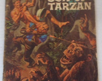 Vintage 1965 Comic Book, Korak, Son of Tarzan, Edgar Rice Burroughs, Gold Key, A Ghost Beast and Korak Avenge Jungle Invaders!
