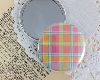 Clearance Sale Pocket Mirror, Bridesmaid Gift, Mirror, Purse Mirror, Party Favors, Shower Favors, Teacher Gift, Stocking Stuffers