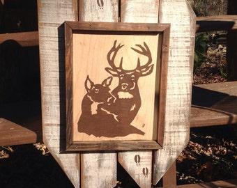 Deer Wall Hanging