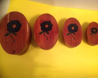 Cedar Shaker Boxes set of 4