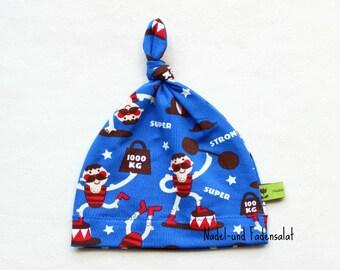 Baby Hat, Baby knot Hat, Baby knotted Hat, Baby Shower Gift, gender neutral Baby Hat, Newborn Hat
