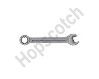 Combination Wrench - Machine Embroidery Design