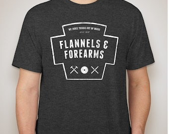 Flannels & Forearms Official T-Shirt