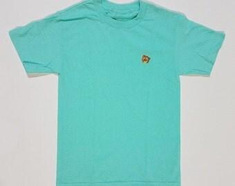 Yeezy Bear Embroidered T Shirt | Kanye West Murakami Bear Mint Short Sleeve Tee S, XL