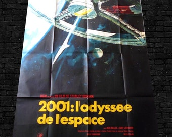vintage movie poster 2001 Space Odyssey