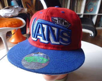 vtg cap Vans Skateboard good condition