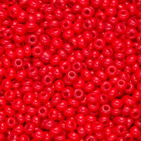 Small Size Beads: Size 11 Seed Beads Glass Beads Small Beads Stitchwork