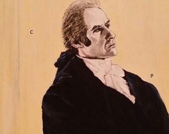 Thomas Jefferson print of original painting