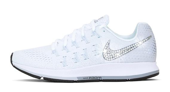 Swarovski Nike Shoes Women s Nike Air Zoom by BlingandDesignShop 70 ... b85c519523b0