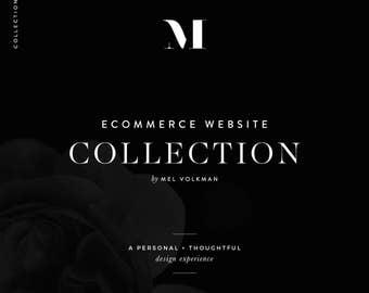Custom ECommerce Website and Blog Collection, Custom Website Design, Custom Blog Design, Mobile Responsive, Web Development, Wordpress