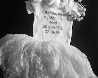 50 Shades of Grey Baby Onesie!!