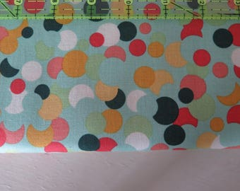 1 yard Fancy Pants design, Fancy and Fabulous Polka Dots by Riley Blake fabrics, 100% quilt shop quality cotton fabric