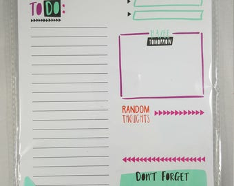 Task Pad, Daily Planning Pad, To-Do List, Target Dollar Spot