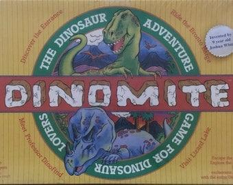 Dinomite Board Game - 1988