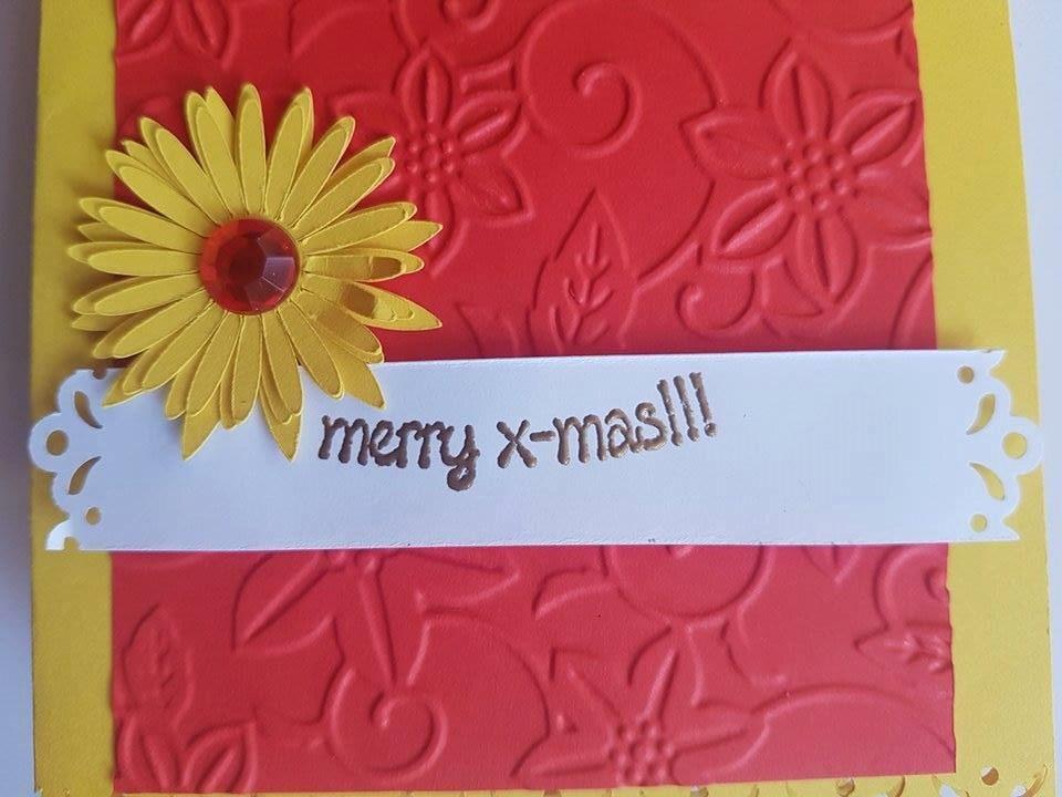 Beautiful handmade embossed greeting christmas cards red cards beautiful handmade embossed greeting christmas cards red cards yellow cards gold cards m4hsunfo