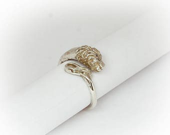 Ring-Litle Lion, 925 Silver