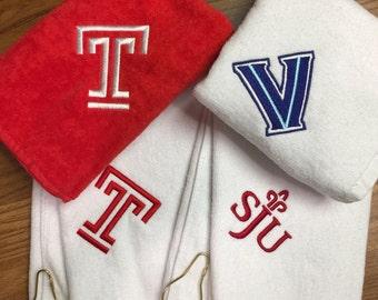 Villanova golf towel