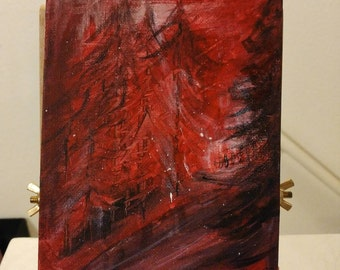 Wildfire - Abstract Painting